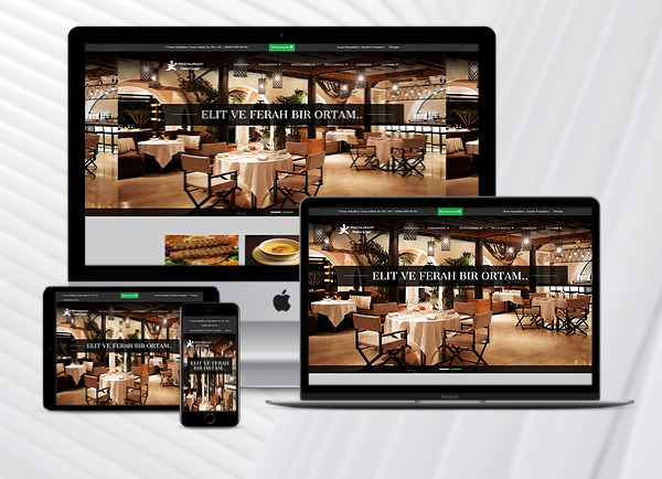 Restaurant Web Paketi Blacklife v2.5